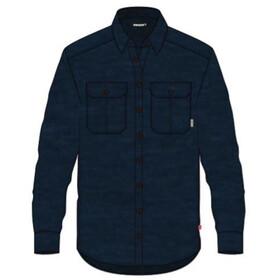 Aclima LeisureWool Reborn Skjorte i uld Herrer, blå